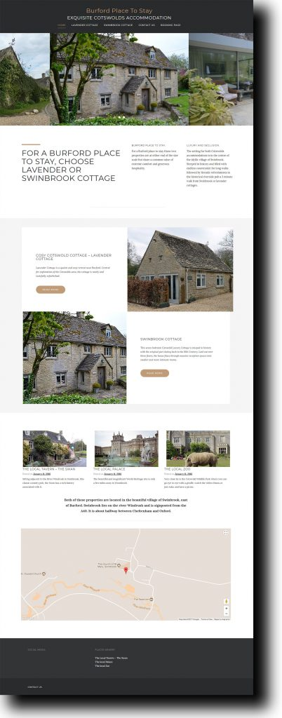 Burford Place Website