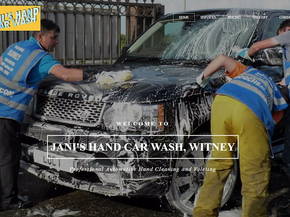 Jani hand car wash