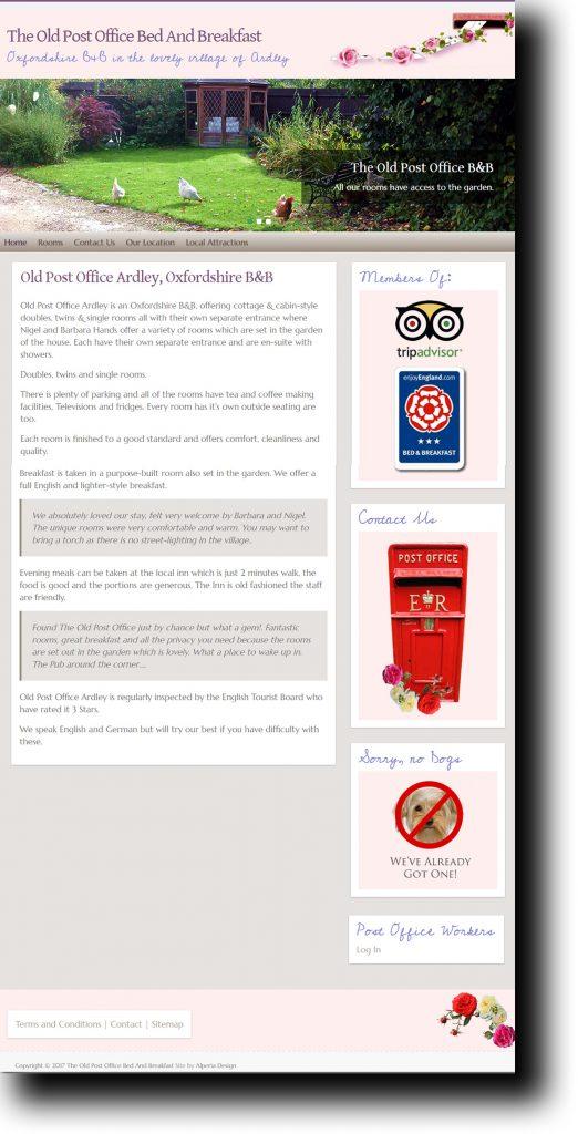 Old Post Office Website