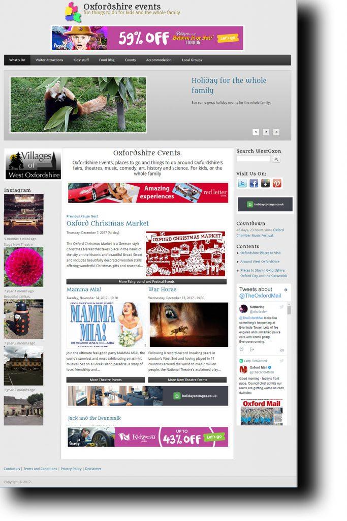 Westoxon Website