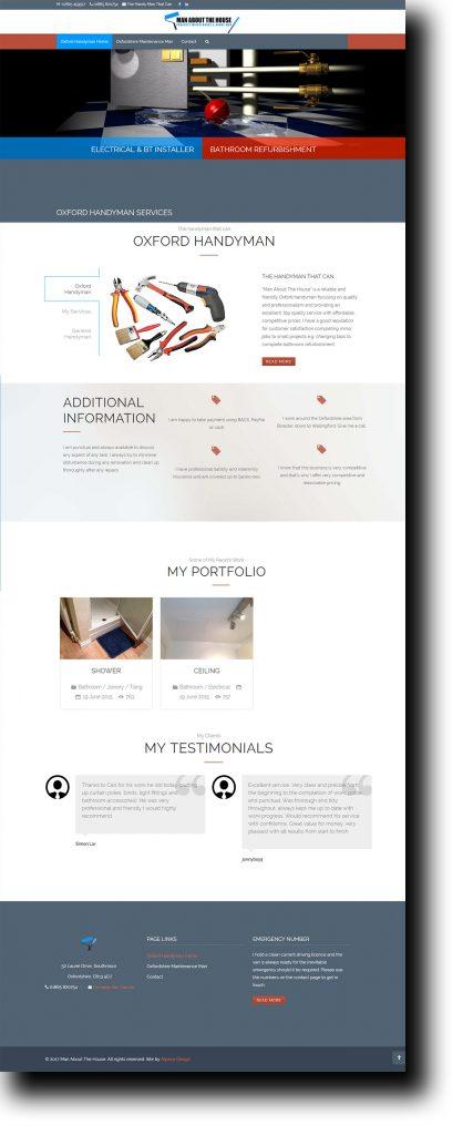 Oxford Handyman Website Website