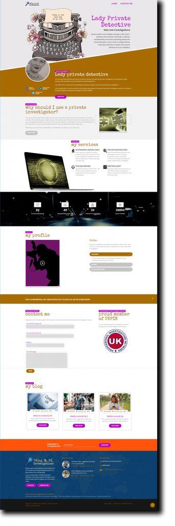Lady Detective Website