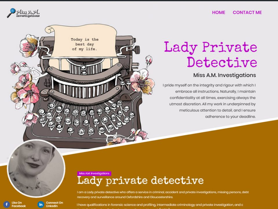 Lady Private Detective